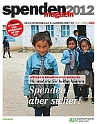 Spendenmagazin 2012